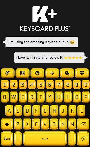Gold Keyboard HD