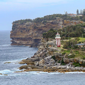 Hornby Lighthouse, Sydney Australia  by Kirsten Evans - Novices Only Landscapes