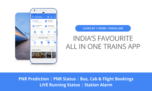 Indian Rail Train PNR and Running Status, IRCTC Info