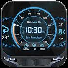 Tiempo y temperatura gratis icon