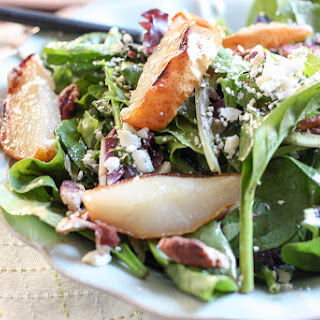 Spinach Pear Salad Balsamic Vinaigrette Recipes