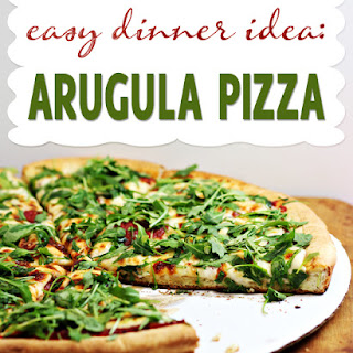 Arugula Pizza Recipe