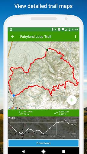 AllTrails: Hiking, Running & Mountain Bike Trails Screenshot