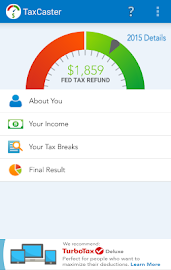 TaxCaster by TurboTax - Free Screenshot 1