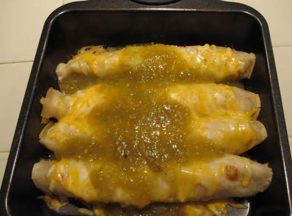 Creamy Chicken And Chile Enchiladas Recipe