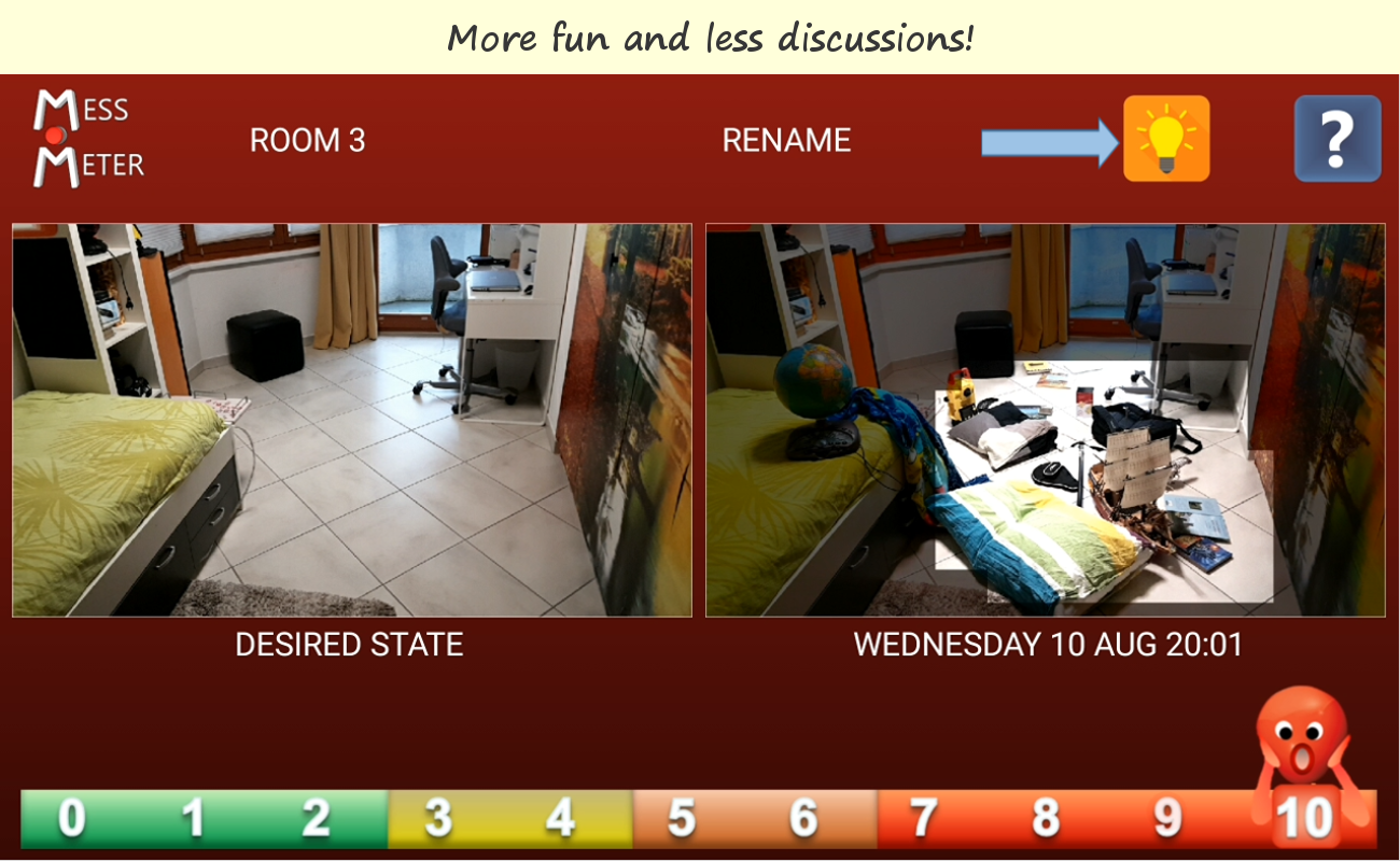 Clean up - Photographic Coach for Kids- screenshot