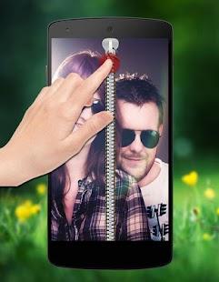 Couple Passcode Zipper Lock screenshot
