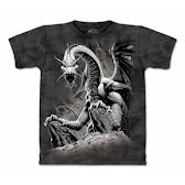 T-Shirt Black dragon S-XL