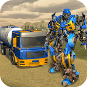 Game Oil Tanker Real Robot Transformation: Robot Wars APK for Kindle