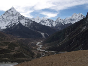 Photo: Montée vers Dzonghla
