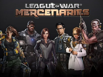 League of War: Mercenaries: miniatura da captura de tela