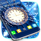 Clock Live 3D Wallpaper