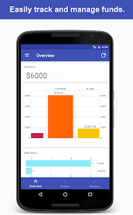 Scout Accounts Money Tracker - náhled