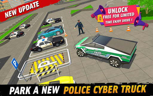 Police Car Parking: Police Jeep Driving Games screenshots 15