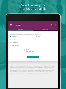 My Control Card Mobile Banking- screenshot thumbnail