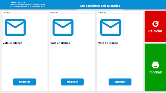App Simulador Generales Salta 2017 APK for Windows Phone
