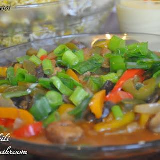 Chinese Chili Soya Mushroom