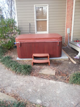Photo: Working with the EZ Pad was a breeze. After leveling the ground I just placed the EZ Pad on the frame I made and put the hot tub on top.    Dave R. Jackson, MS