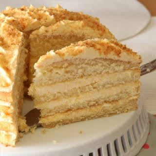 Custard Layer Cake.