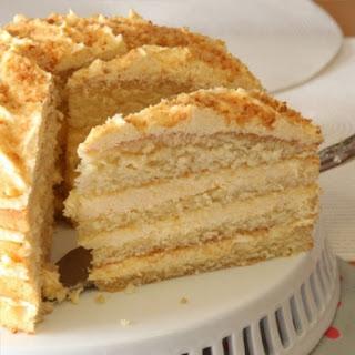 Custard Layer Cake.