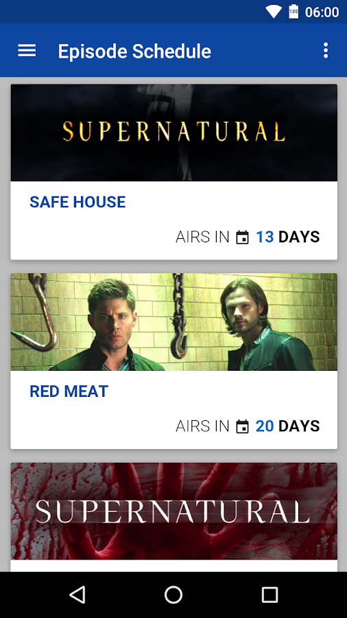SPN Countdown- screenshot