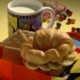 Süßes Croissant