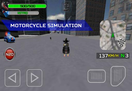Moto Zombie City Police  astuce 2