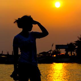 sunset by Jenry Brady - People Portraits of Women