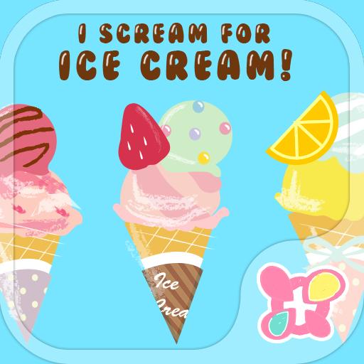 个人化のかわいい壁紙・アイコン-アイスがいっぱい-無料きせかえ LOGO-記事Game