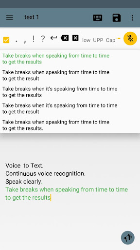 Voice to Text Text to Voice FULL 9.3 screenshots 2