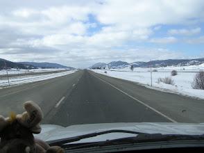Photo: Alberta, still snowy landscapes