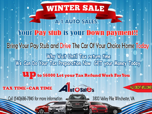 Virginia Auto Sales Tax >> A1 Auto Sales