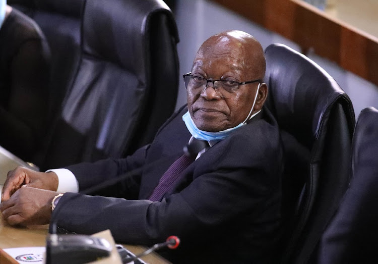 The ANC's Gauteng secretary says it is in the best interests of SA and the party for Jacob Zuma to appear before the state capture inquiry. File photo.
