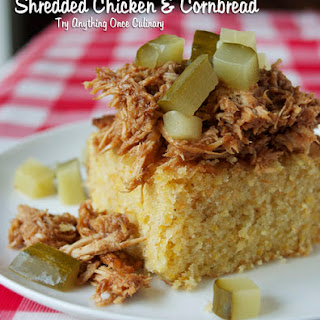 Shredded Chicken & Cornbread