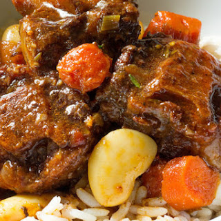Slow Cooker Oxtail and Butter Beans.