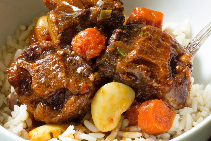 Slow Cooker Oxtail and Butter Beans Recipe
