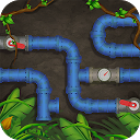 Connect the pipes - Pipeline - Plumbing icon