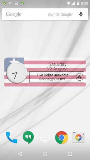 Liberia Clock RSS Widget