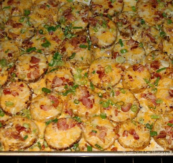 Twice Baked Potato Rounds Recipe
