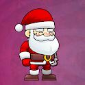Santa Christmas icon