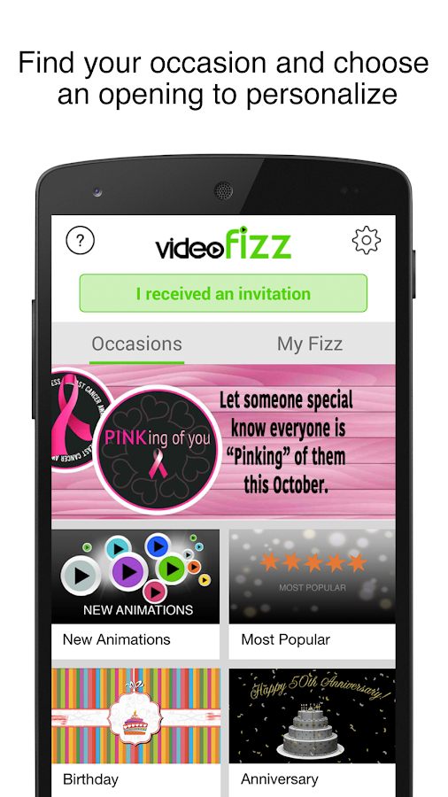 VideoFizz- screenshot