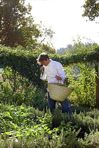 The Werf restaurant sources food solely from its own garden and farm. Picture: SUPPLIED