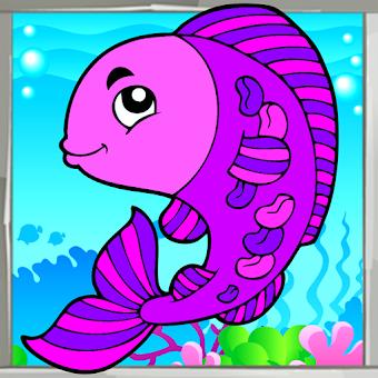 Deniz Canlıları Boyama Kitabı Hileli Apk Indir 13