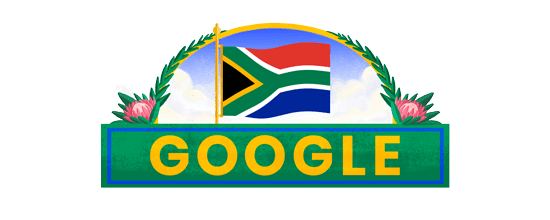 Google celebrates Freedom Day with a doodle