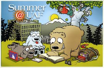 Photo: UAF Summer Session: 2013 Postcard design