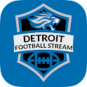 Detroit Football STREAM icon