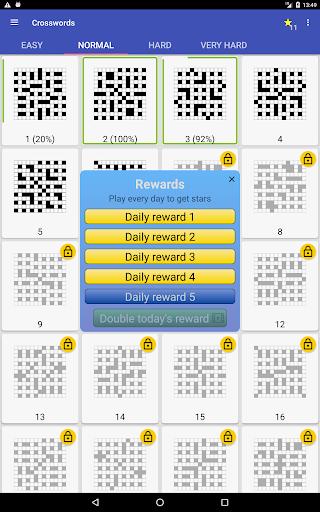 English Crossword puzzle 1.7.1 screenshots 13