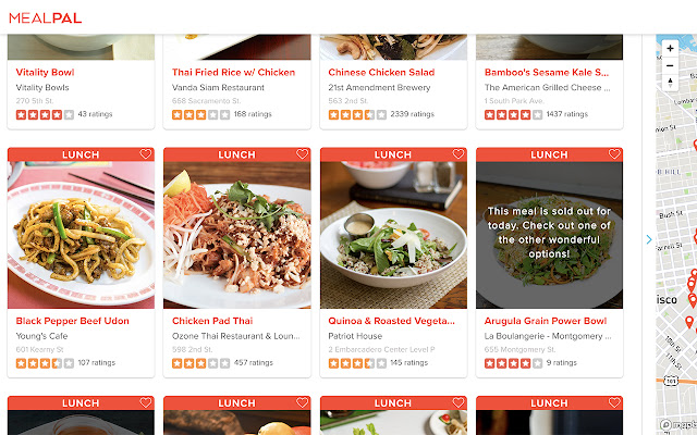 Yelp for MealPal