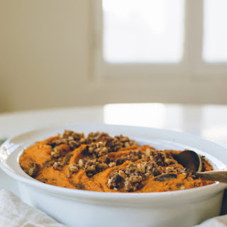 Brown Butter Citrus Sweet Potatoes