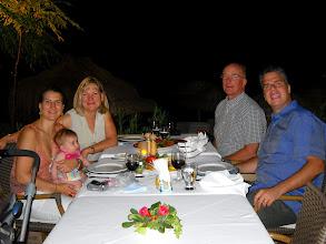 Photo: Birthday dinner
